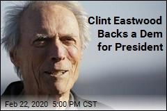 Clint Eastwood Backs a Dem for President