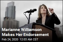 Marianne Williamson Endorses Bernie Sanders