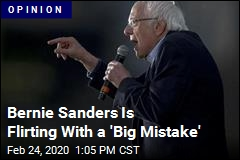 Bernie Better Fix This 'Big Mistake'