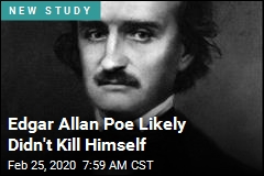 Edgar Allan Poe Likely Didn't Kill Himself