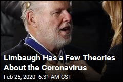 Rush Limbaugh Has a Theory About the Coronavirus