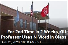 For 2nd Time in 2 Weeks, OU Professor Uses N-Word in Class