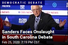 Sanders Faces Onslaught in South Carolina Debate
