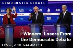 Winners, Losers From Democratic Debate