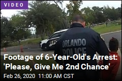 Footage of 6-Year-Old's Arrest: 'Please, Give Me 2nd Chance'