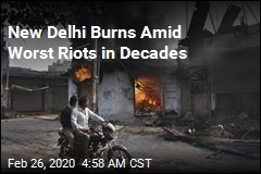At Least 20 Killed as Hindus, Muslims Clash in New Delhi