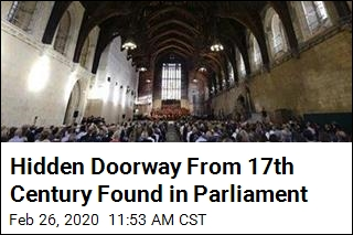 Forgotten Passageway Built in 1660 Found in UK Parliament