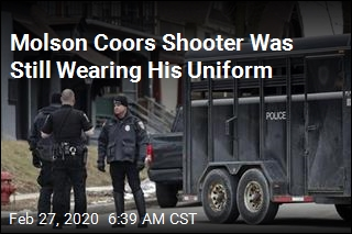 Molson Coors Shooter Was Still Wearing His Uniform