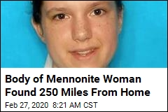 Body of Mennonite Woman Found 250 Miles From Home