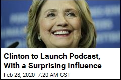 Meet Your Newest Podcaster: Hillary Clinton