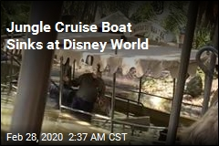 Jungle Cruise Boat Sinks at Disney World