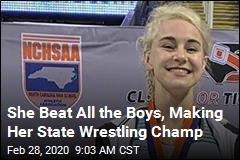 She Beat All the Boys, Making Her State Wrestling Champ