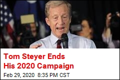 Tom Steyer Ends His 2020 Campaign
