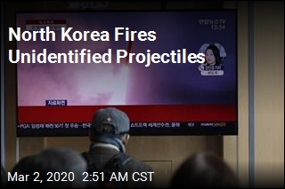 North Korea Fires Unidentified Projectiles