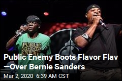 Public Enemy Kicks Out Flavor Flav Over Bernie Sanders