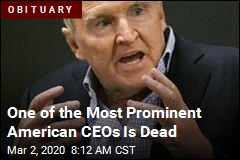 One of the Most Prominent American CEOs Is Dead
