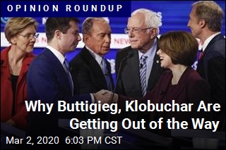 Why Buttigieg, Klobuchar Are Getting Out of the Way