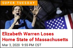 Big Hit for Warren: She Loses Her Home State