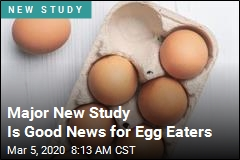 Major New Study Is Good News for Egg Eaters