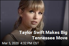 Taylor Swift Makes Big Tennessee Move