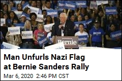 Sanders: Nazi Flag at My Rally Is 'Horrific'