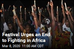 Festival Urges an End to Fighting in Africa