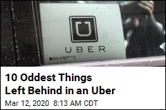 Here Are the Weirdest Things Left Behind in an Uber