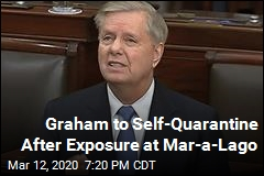 Graham to Self-Quarantine After Exposure at Mar-a-Lago