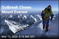 Outbreak Closes Mount Everest