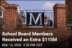 School Board Members Received an Extra $115M