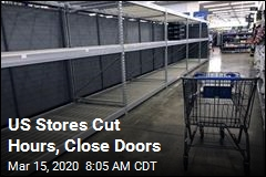US Stores Cut Hours, Close Doors