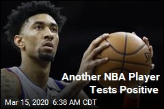 3rd NBA Player Tests Positive