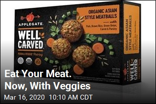 Meat Companies Say: Eat Your Veggies