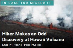 Hiker Discovers Old Bombs at Hawaii Volcano