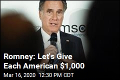 Romney: Let's Give Each American $1,000