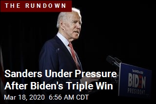 Sanders Under Pressure After Biden's Triple Win