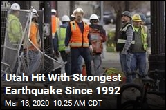 Utah Hit With Strongest Earthquake Since 1992