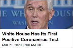Positive Virus Test for Mike Pence Staffer