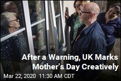 After a Warning, UK Marks Mother's Day Creatively