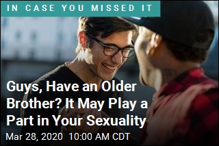 Guys, Have an Older Brother? It May Play a Part in Your Sexuality