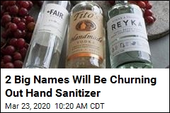 2 Big Names Will Be Churning Out Hand Sanitizer