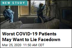 Worst COVID-19 Patients May Want to Lie Facedown