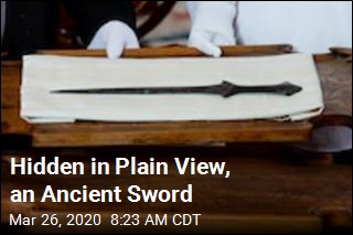 This Is Among the Oldest Swords Ever Found