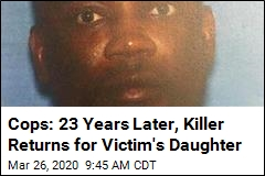 Cops: 23 Years Later, Killer Returns for Victim's Daughter