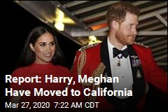 Report: Harry, Meghan Have Moved to California