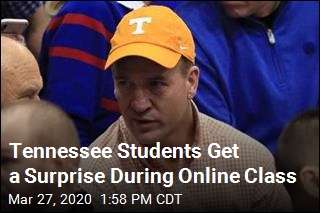Perk to Online Classes: Peyton Manning Shows Up