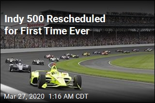 Indy 500 Rescheduled for First Time Ever