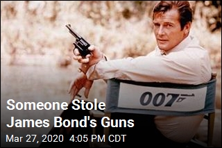 Thieves Steal 007's Guns