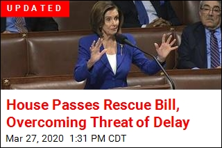 House Passes Rescue Bill, Overcoming Threat of Delay