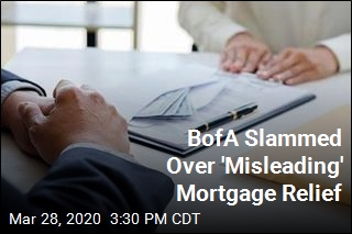 BofA Slammed Over 'Misleading' Mortgage Relief